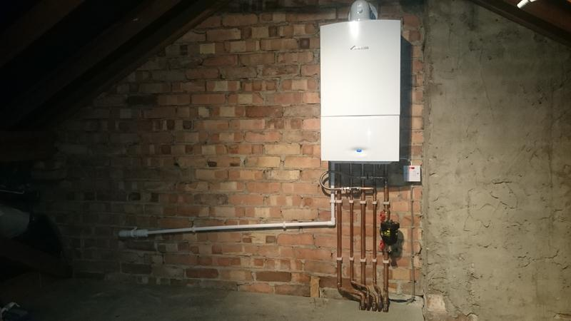 Image 14 - Another Worcester with a 7 year warranty installed in the loft.