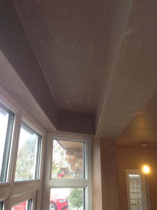 Image 27 - Plastering around window