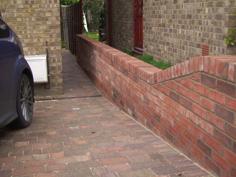 Image 23 - Block Paving with Boundary Wall