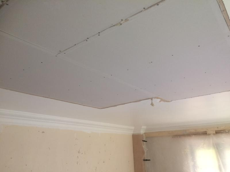 Image 28 - Plasterboard replaced
