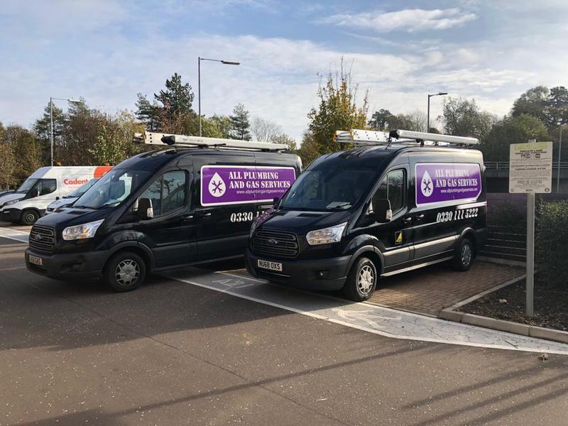 Image 13 - Our well-equipped vans to tend to all your Plumbing/Gas/Drainage needs.