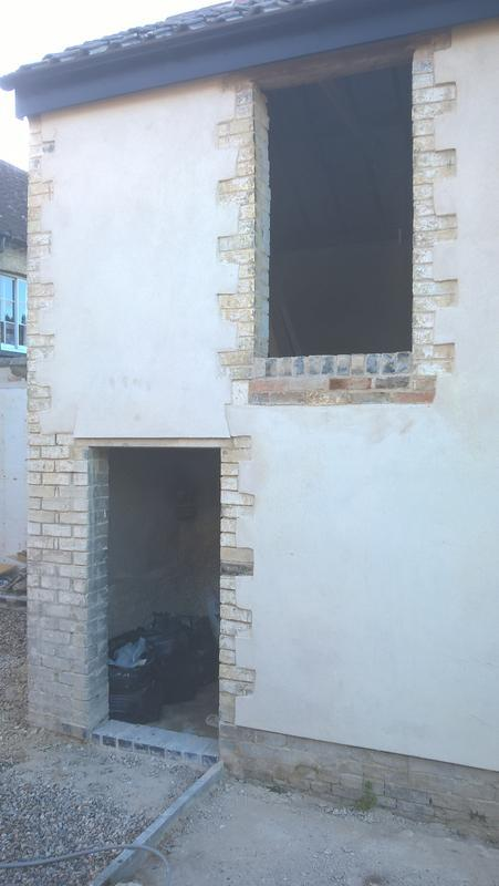 Image 4 - Lime render,Lode (cambs)