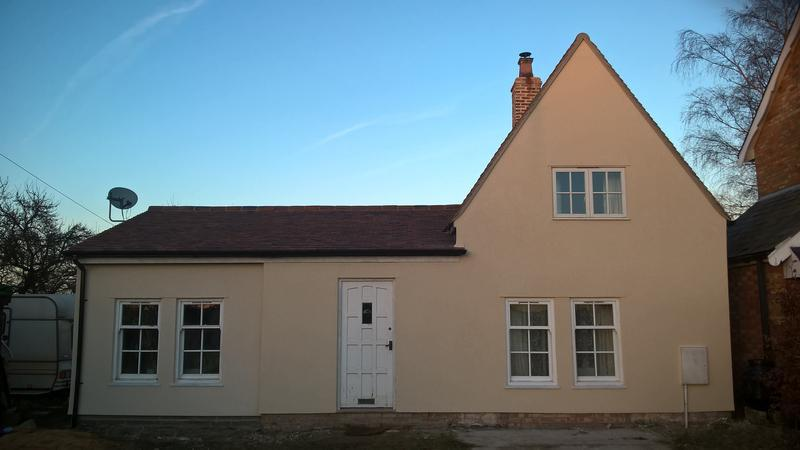 Image 1 - Thin coat render,Woodwalton (cambs)
