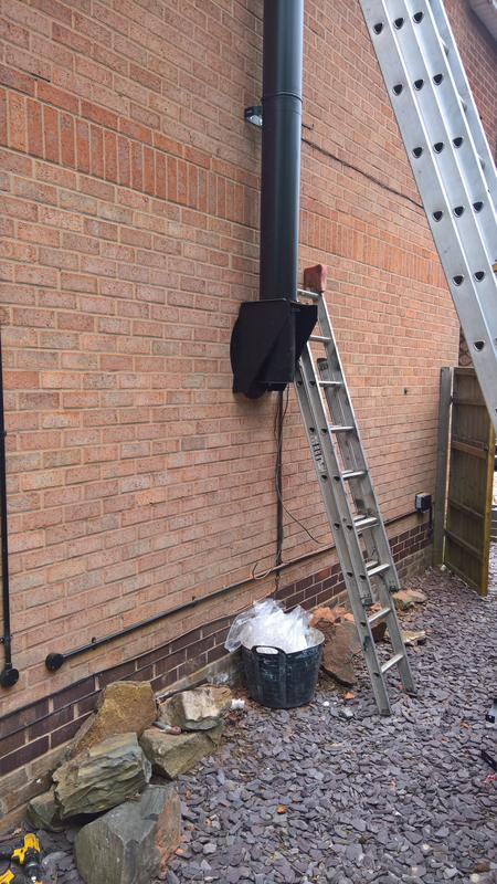 Image 27 - black twin wall flue system