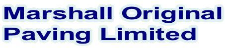 Marshall Original Paving Ltd logo