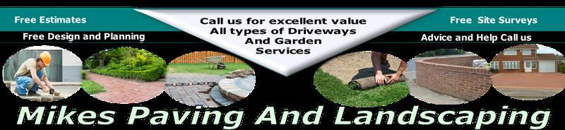 Mike's Paving & Landscaping logo