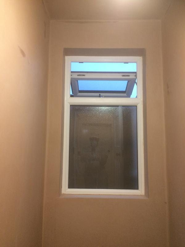 Image 45 - unused space, plasterboard and plastered to make a usable space at home