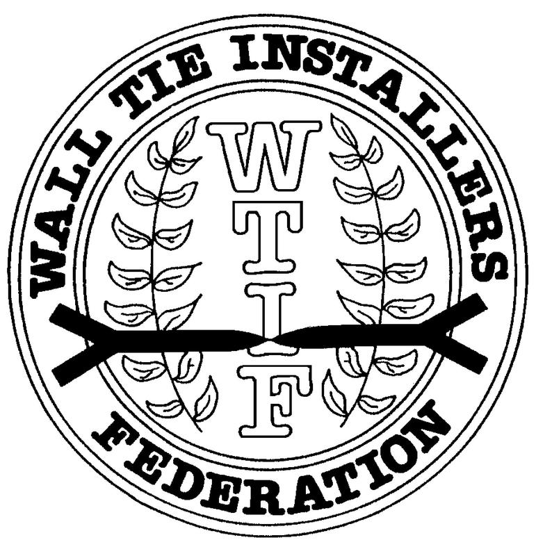 Image 5 - Full members of the Wall Tie Installers Federation