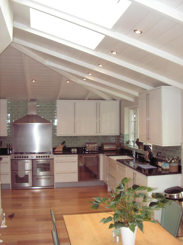 Image 2 - Complete decoration of an open-plan kitchen dining room