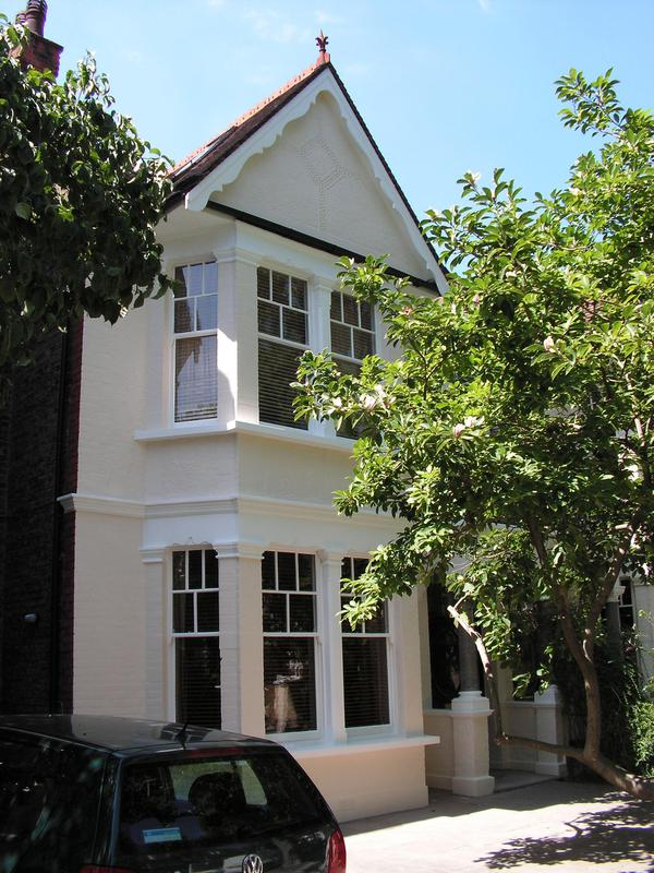 Image 29 - Complete exterior painting of a property in Fulham