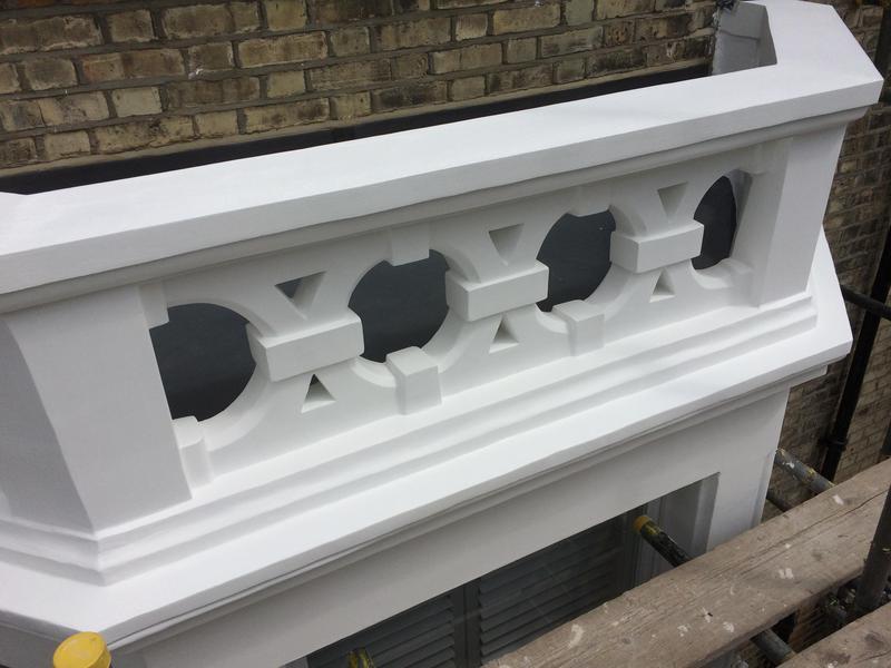 Image 26 - Balcony sealed with stabilising solution, 3 coats of Dulux Weathershield masonry paint