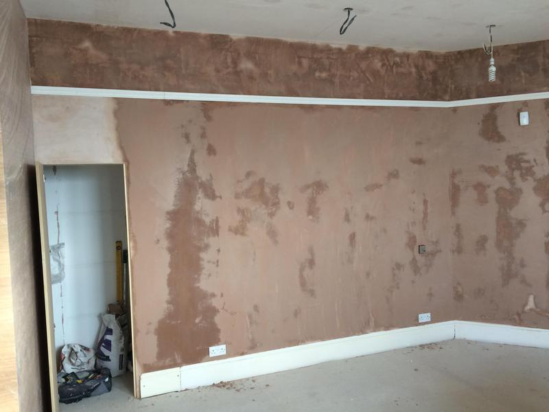 Image 50 - Bedroom walls stripped off and fully plastered prior to decoration