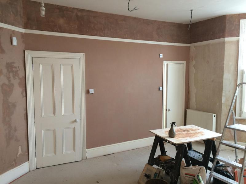 Image 22 - 10 LED lights fitted, walls completely stripped, sealed and skim plastered, woodwork prepared