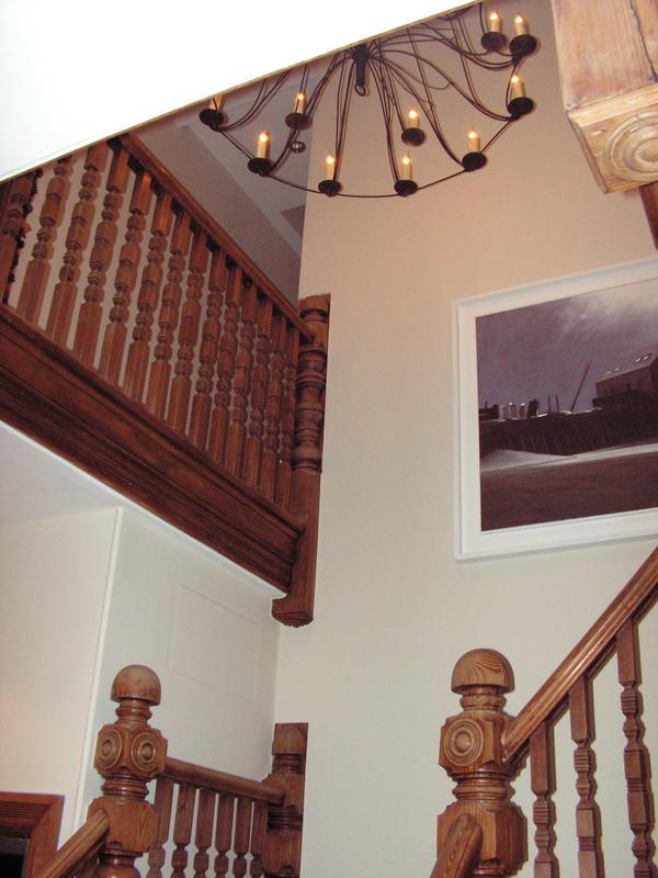 Image 11 - Ceiling and walls painted with Farrow and Ball Estate emulsion