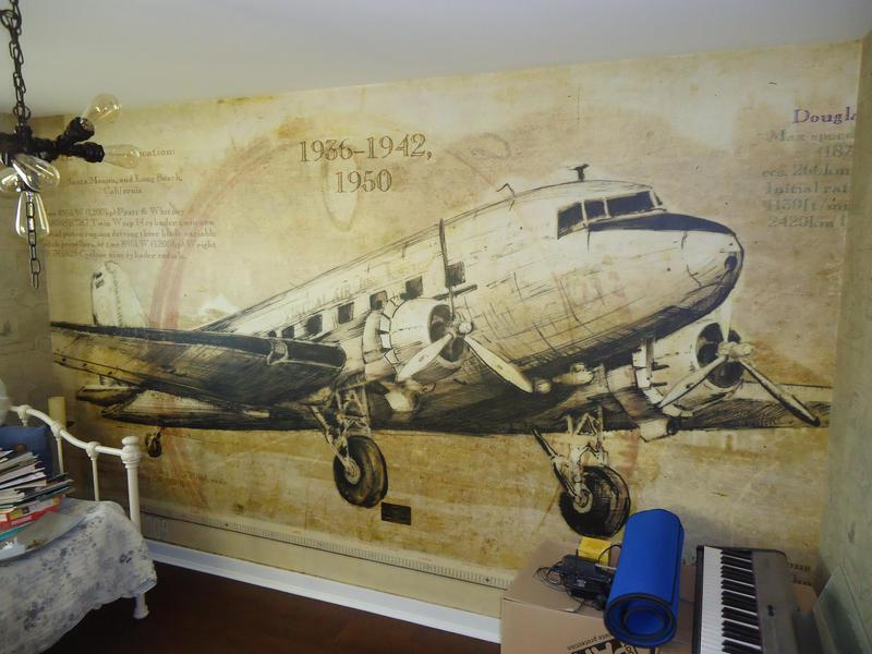 Image 48 - Large wall mural
