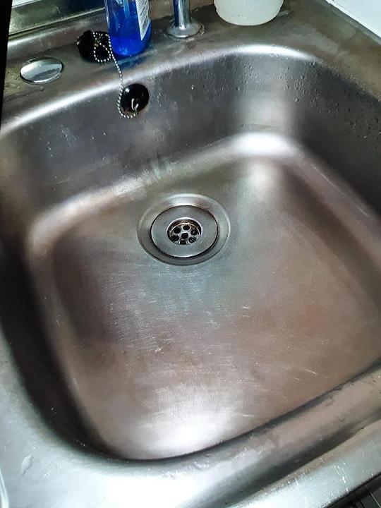 Image 12 - Blocked Sink - After
