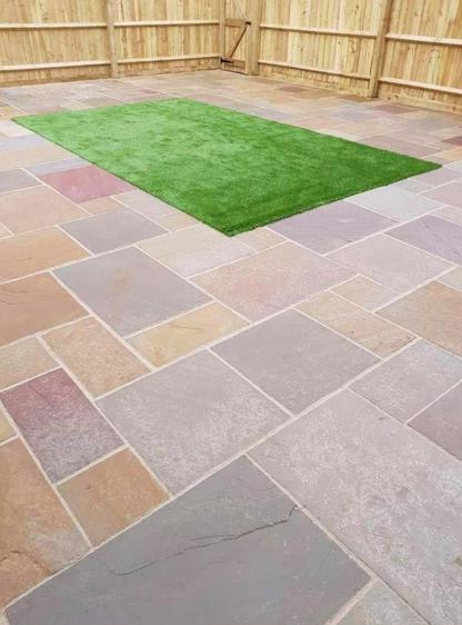 Image 44 - patio and artifical grass
