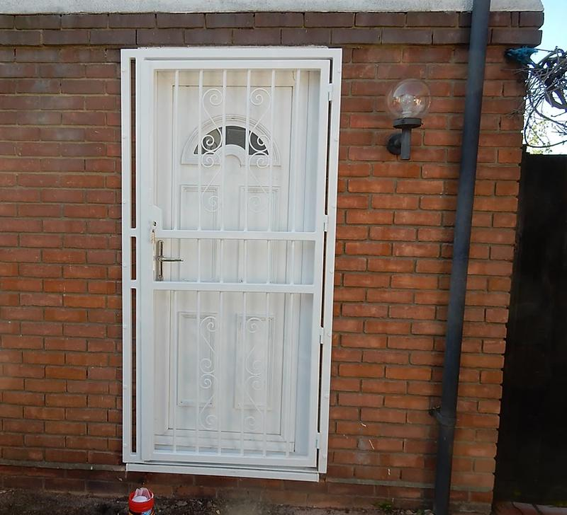 Image 67 - High Security Bar Grille Gates, galvanised and powder coated, high security deadlocks fitted as standard