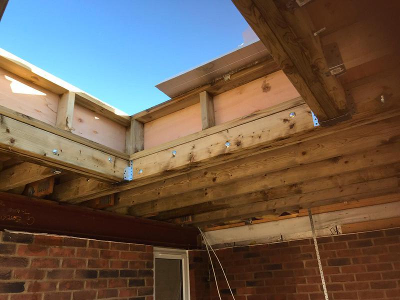 Image 21 - Roof lanteen construction