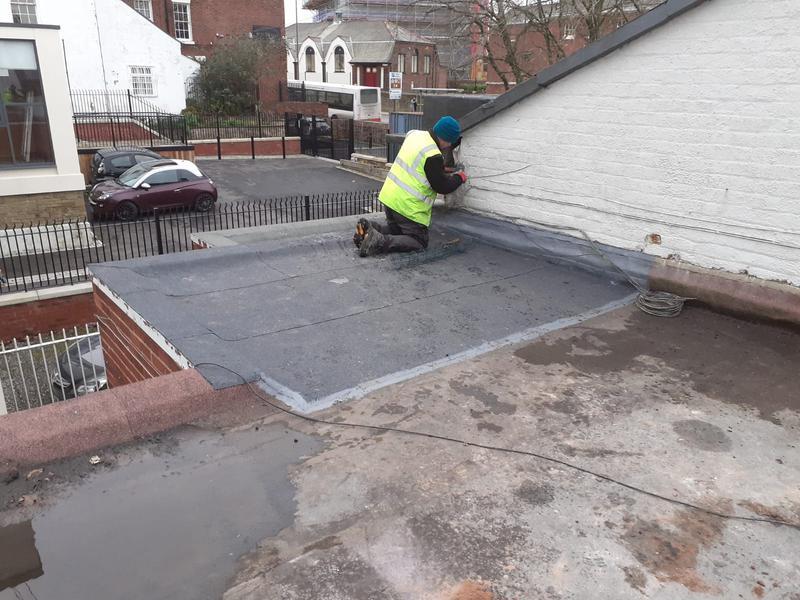 Image 11 - Various roof repairs to solicitors roof in Prescott