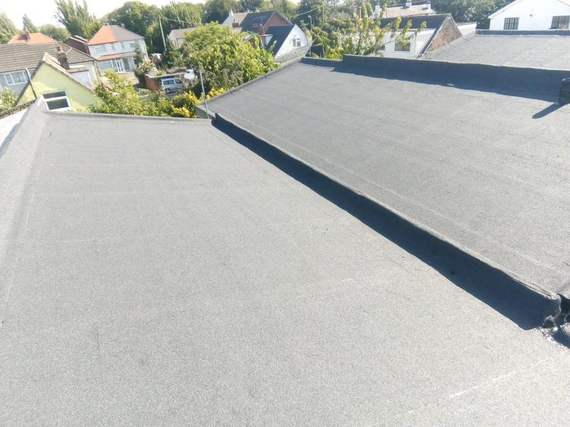 Image 14 - Finish house roof in felt