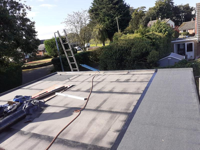 Image 6 - Felt roof replacement