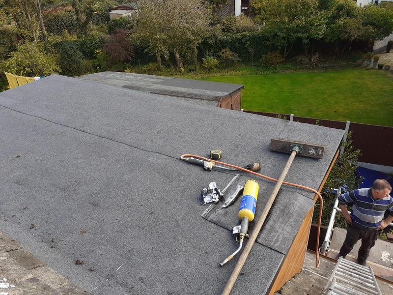 Image 9 - Flat roof replaced and trims to finish