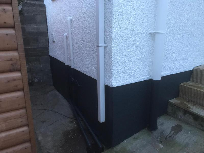 Image 15 - External painting (white & anthracite sill and plinths.