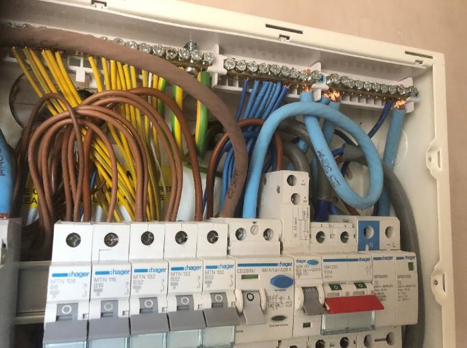 Image 4 - This is work carried out at a Mr D Dack property that involved a new replacement consumer unit.