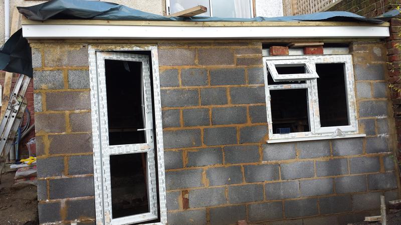Image 38 - New garage build