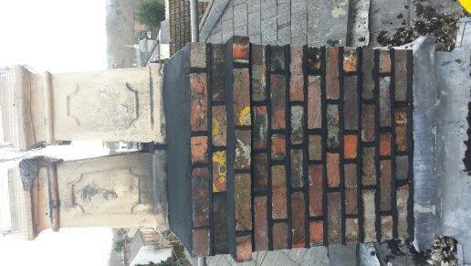 Image 84 - Chimney stack rebuild