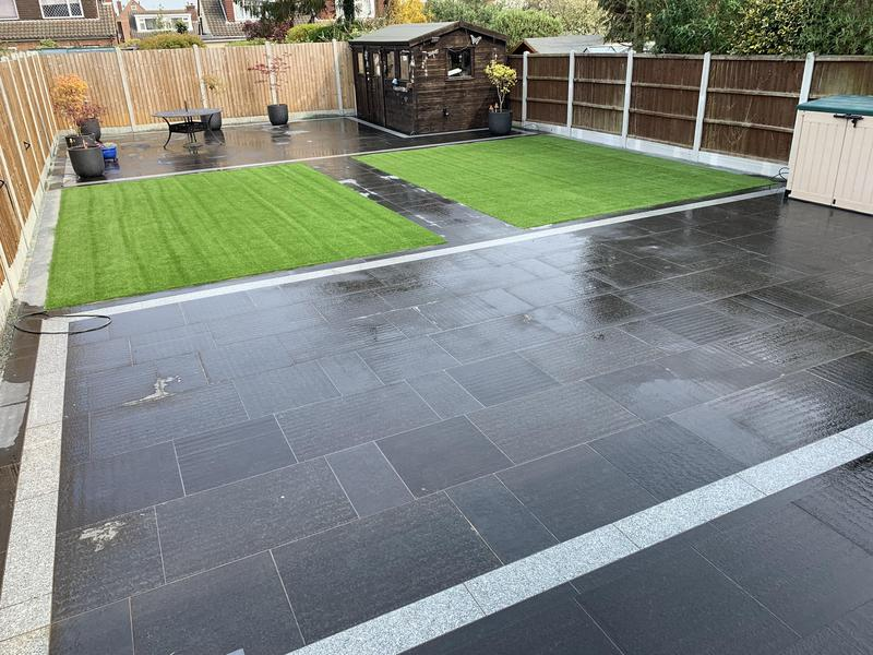 Image 6 - Stunning Black granite on this garden Makeover