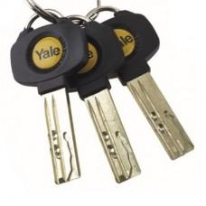 Image 5 - Yale platinum keys cut using original key blanks